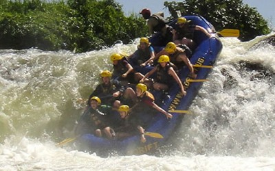 Nile River Rafting Uganda