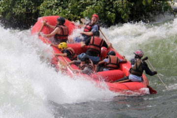 Nile Rafting Exxperience