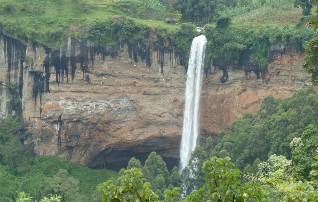 Sipi Falls in Eastern Uganda